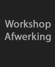 Workshop-afwerking